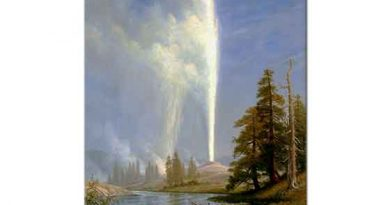 Albert Bierstadt Yaşlı Gayzer