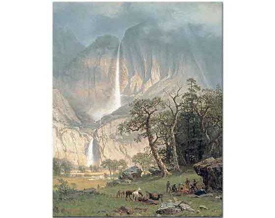 Albert Bierstadt Yosemite Şelalesi