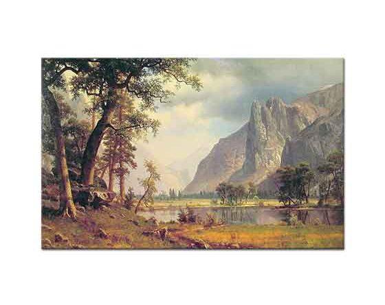 Albert Bierstadt Yosemite Vadisinden