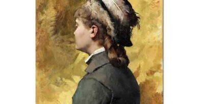 Albert Edelfelt Griler içindeki Kadın