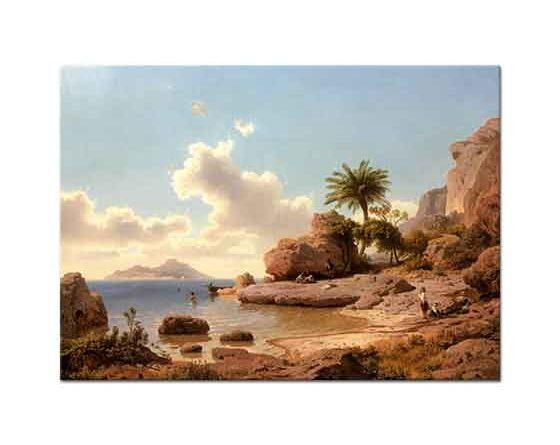 Albert Flamm Capri'den Bakış