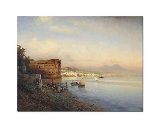 Albert Flamm Napoli'ye Bakış