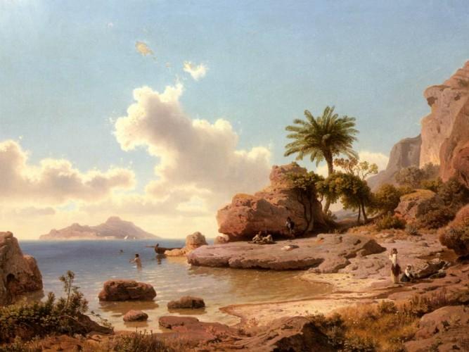 Albert Flamm Capri'den Bakış tablosu