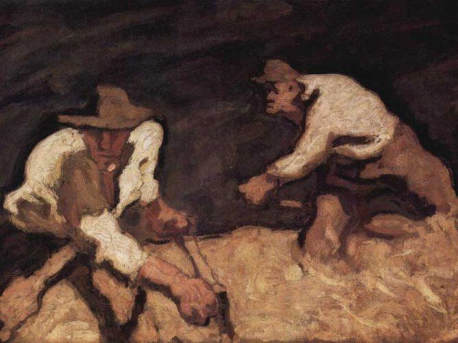 Albin Lienz Egger Yol işçileri tablosu