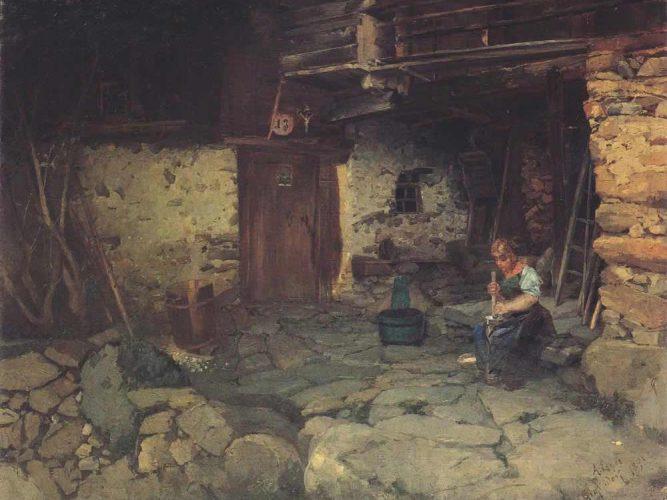 Albin Lienz Egger Grafendorf'ta Çiftlik