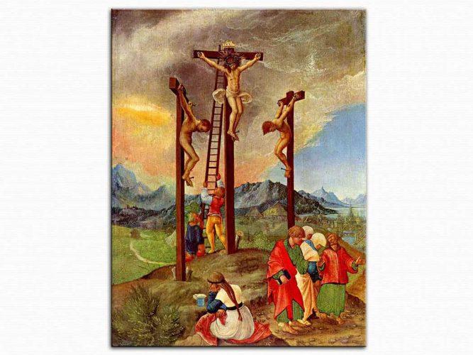Albrecht Altdorfer Isa'nın Çarmıha Gerilişi