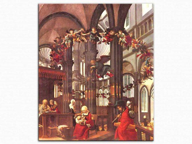 Albrecht Altdorfer Meryem'in Doğumu