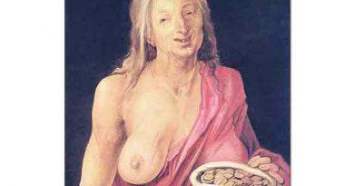Albrecht Dürer, Altın Keseli Yaşlı Kadın