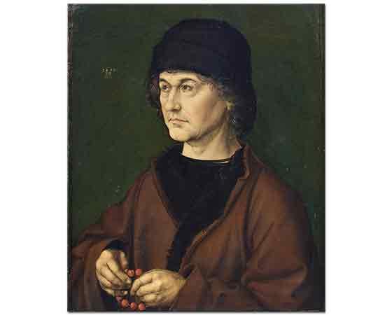 Albrecht Dürer, Babasının Portresi