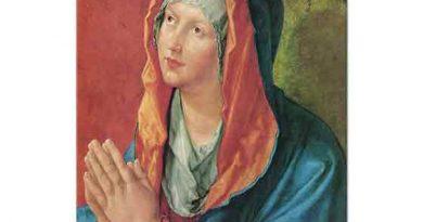 Albrecht Dürer, Bakire Meryem'in Duası
