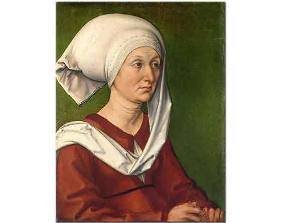 Albrecht Dürer, Barbara Dürer'in Portresi