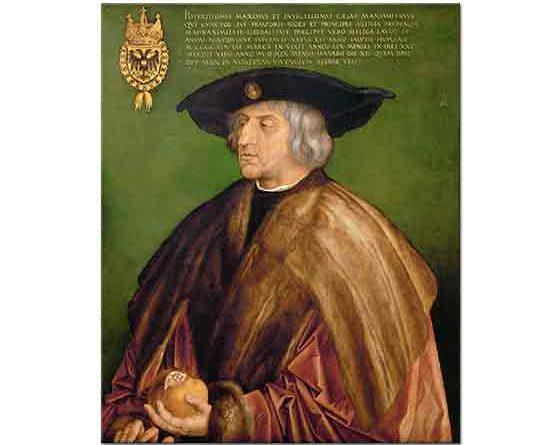 Albrecht Dürer, Kaiser Maximilian I'in Portresi
