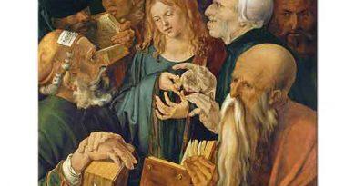 Albrecht Dürer, Doktorların Arasında Isa