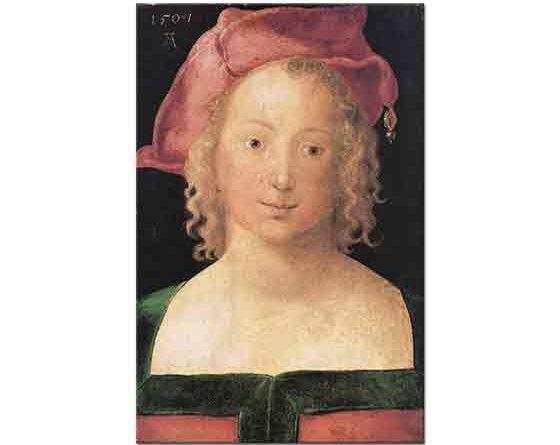 Albrecht Dürer, Genç Kız Portresi