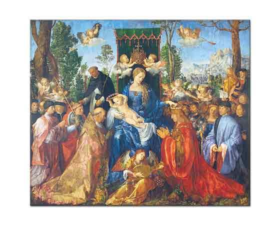 Albrecht Dürer, Gül Çelenkli Kutlama