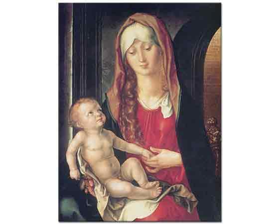 Albrecht Dürer, Kemerli Yol önünde Meryem ve Çocuk Isa