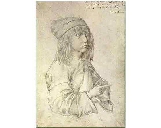 Albrecht Dürer, Kendi Portresi 13 Yaş