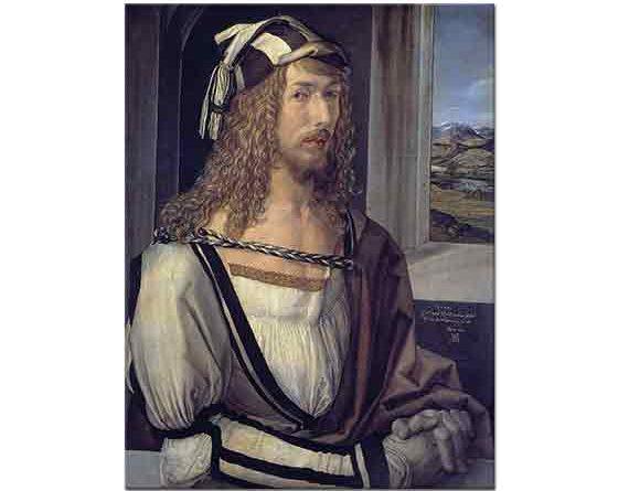 Albrecht Dürer, Kendi Portresi 26 Yaşında