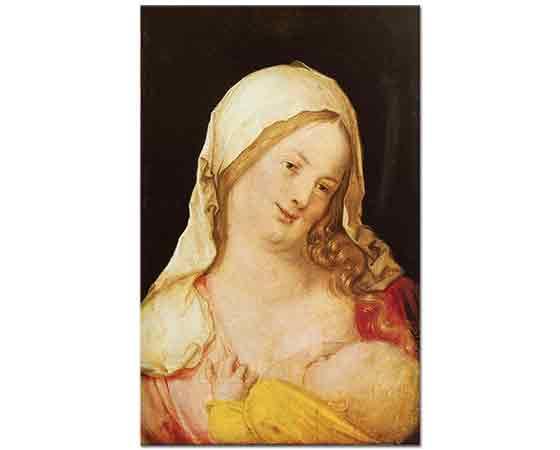 Albrecht Dürer, Meryem Çocuğu ile