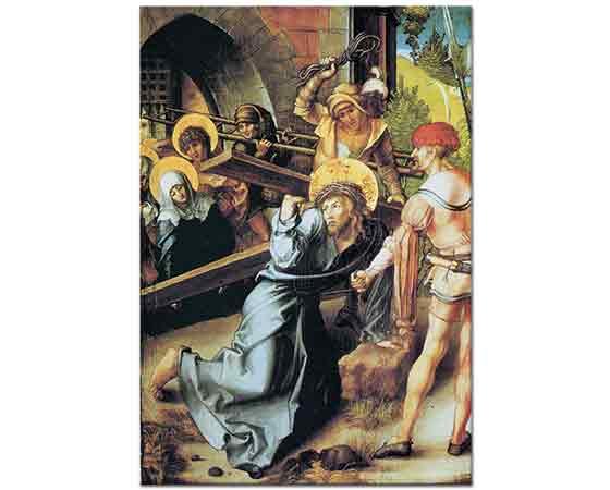 Albrecht Dürer, Meryem'in Yedi Çilesi Çarmıhını Taşıyan Isa