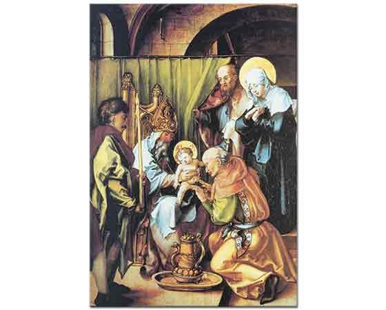 Albrecht Dürer, Meryem'in Yedi Çilesi Isa'nın Sünnet Edilmesi