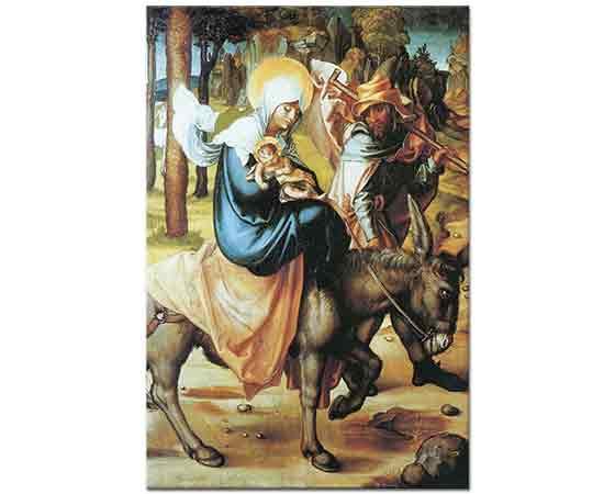 Albrecht Dürer, Meryem'in Yedi Çilesi Mısır'a Kaçış
