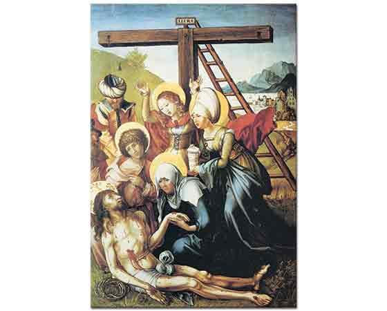 Albrecht Dürer, Meryem'in Yedi Çilesi ölü Isa'ya Ağıt