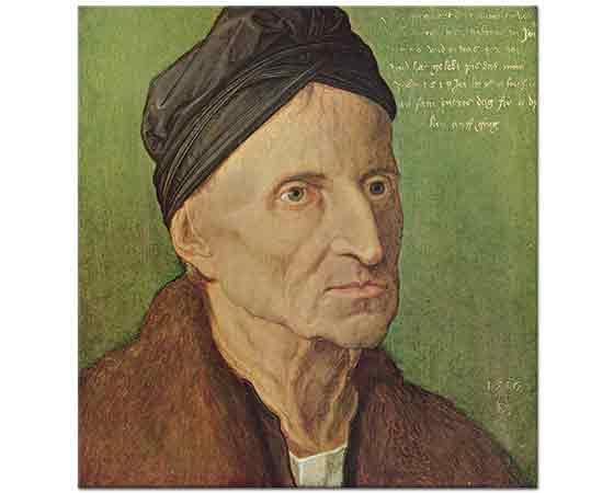 Albrecht Dürer, Michael Wolgemut'un Portresi