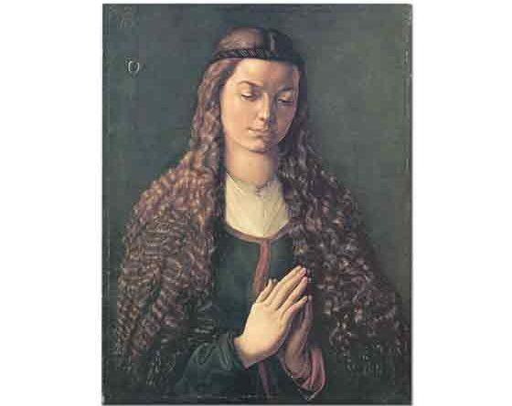 Albrecht Dürer, Saçları Açık Genç Fürleger'in Portresi