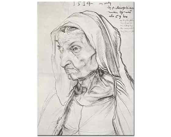 Albrecht Dürer, Sanatçının Annesi