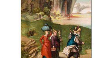 Albrecht Dürer, Sodom Şehrinden Ayrılan Lut ve Kızları