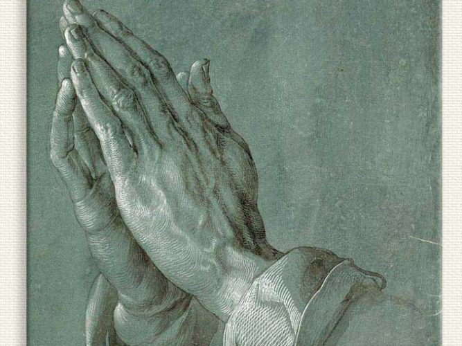 Albrecht Dürer Eller tablosu