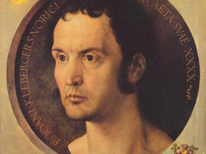 Albrecht Dürer Johannes Kleberger'in Portresi