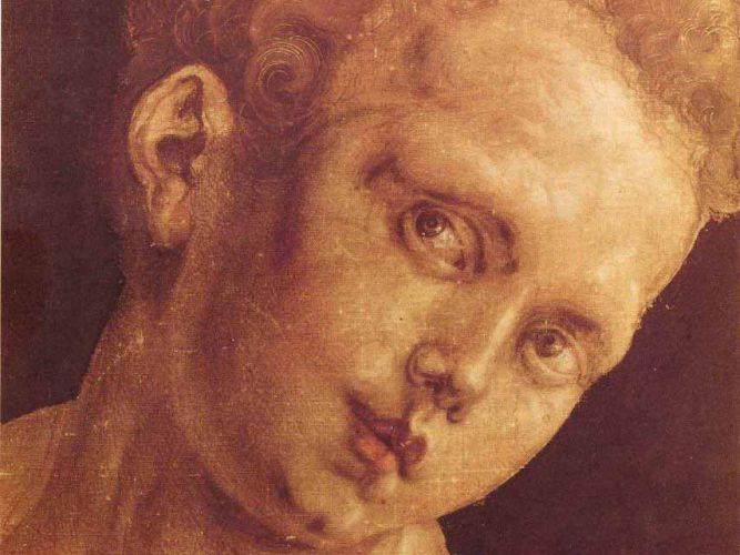 Albrecht Dürer Sağa Dönük Çocuk Kafası