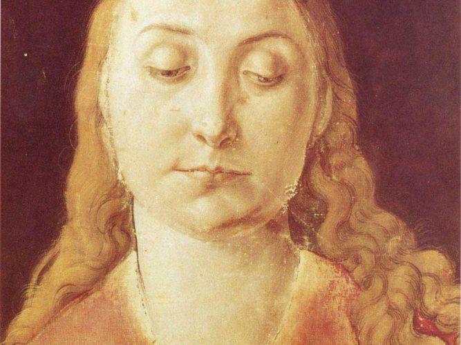 Albrecht Dürer Kadın Kafası tablosu