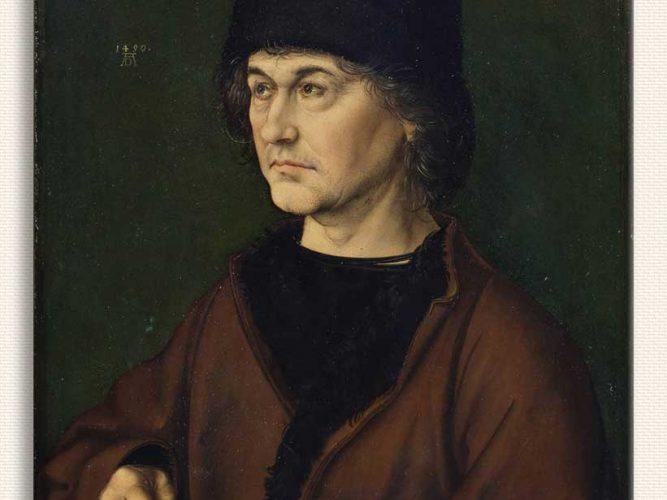 Albrecht Dürer Babasının Portresi