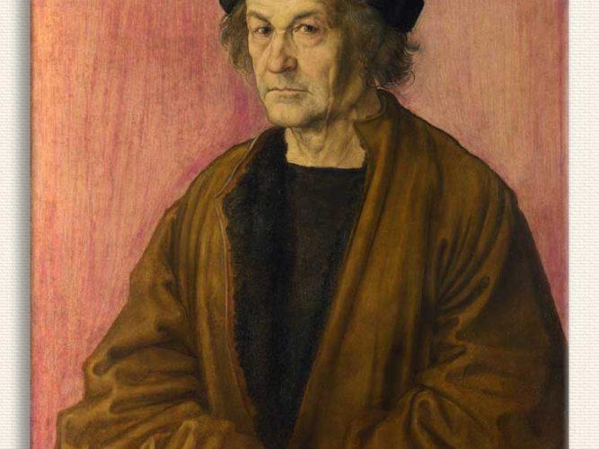 Albrecht Dürer Sanatçının Babasının Portresi