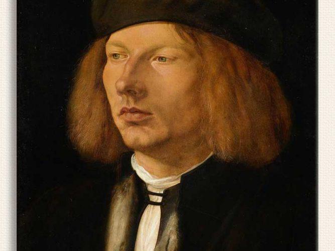 Albrecht Dürer Burkard von Speyer'in Portresi