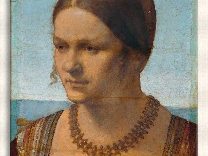 Albrecht Dürer Venedikli Bayanın Portresi
