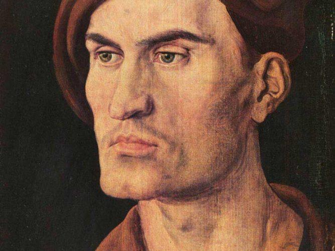 Albrecht Dürer Genç Adam Portresi