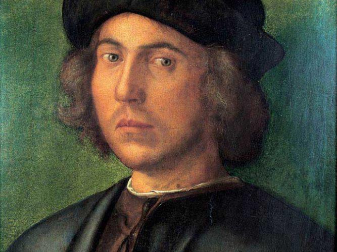 Albrecht Dürer Genç Erkek Portresi