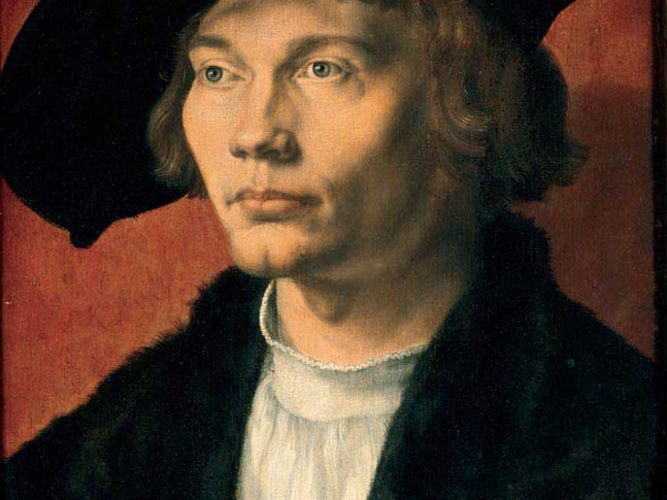 Albrecht Dürer Bernhard von Reesen'in Portresi