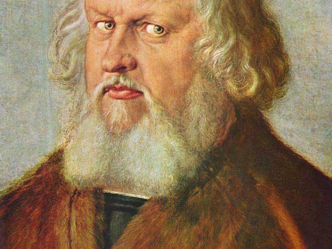 Albrecht Dürer Hieronymus Holzschuher'un Portresi