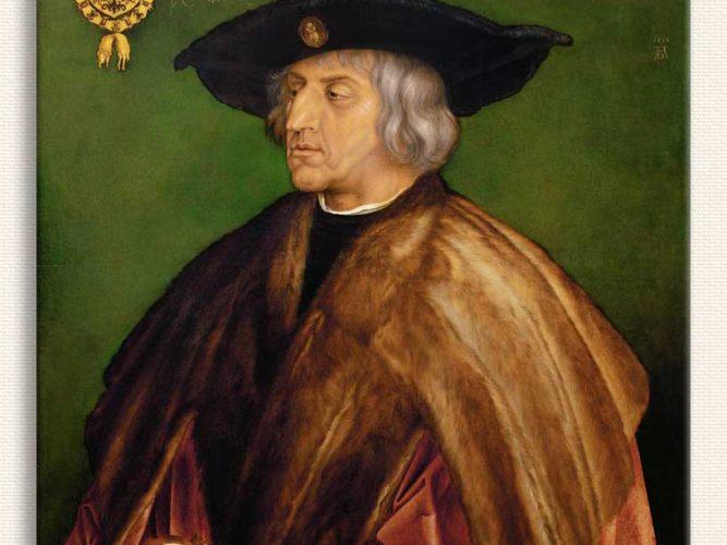 Albrecht Dürer I Kaiser Maximilian'ın Portresi