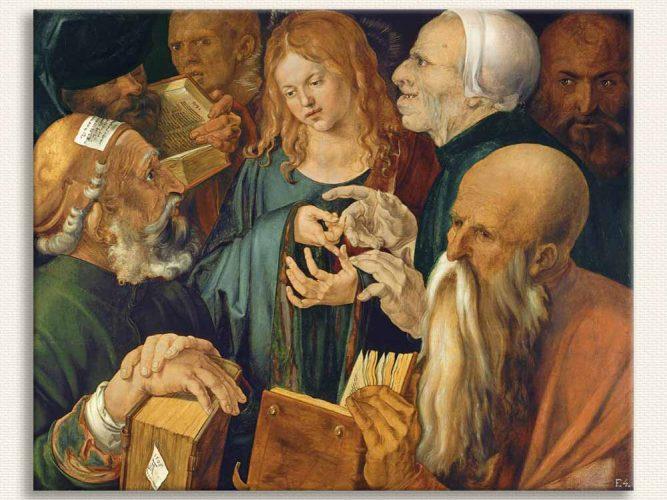 Albrecht Dürer Doktorların Arasında Isa