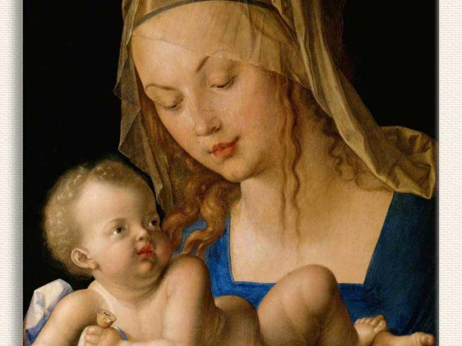 Albrecht Dürer Meryem ile Çocuk Isa