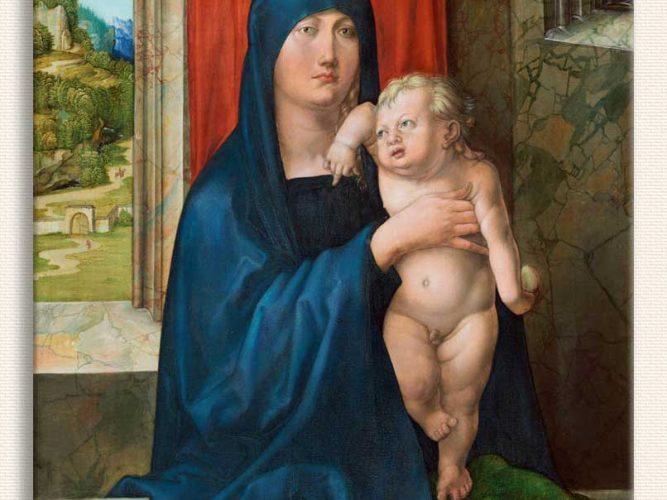 Albrecht Dürer Meryem ve Çocuğu
