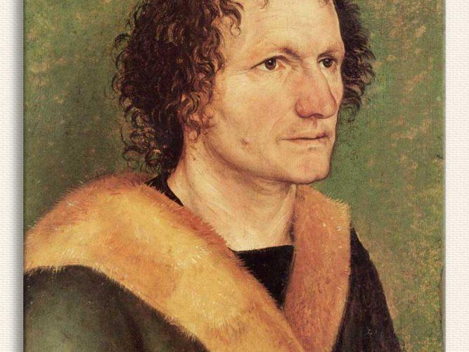 Albrecht Dürer Erkek Portresi tablosu