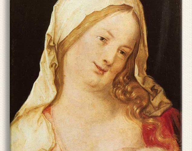 Albrecht Dürer Meryem Çocuğu ile