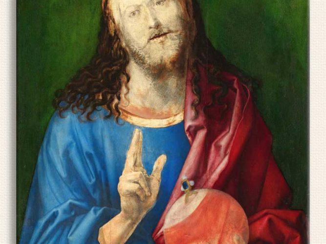 Albrecht Dürer Dünyanın Kurtarıcısı